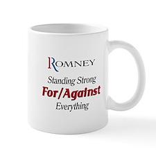 Romney: For/Against Everything Mug