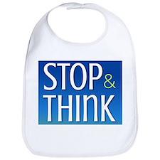 STOP & THINK Bib