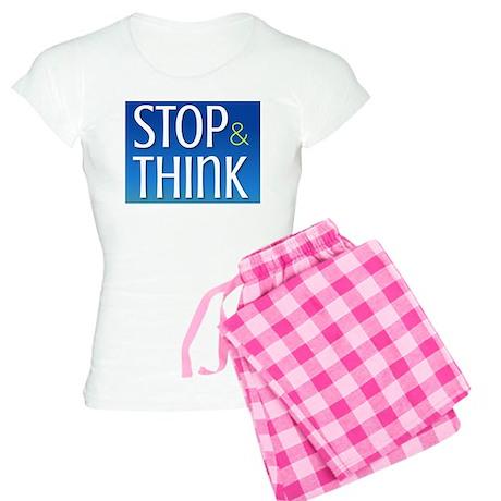 STOP & THINK Women's Light Pajamas