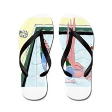 Synchronized Swimming Flip Flops