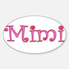 Mimi cutout click to view Rectangle Decal