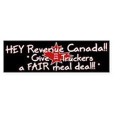 Fair Meal Deal Bumper Bumper Stickers