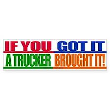 Bright and Bold Bumper Bumper Sticker