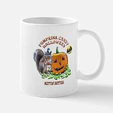 Halloween Squirrel Mug