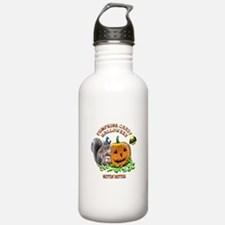 Halloween Squirrel Water Bottle