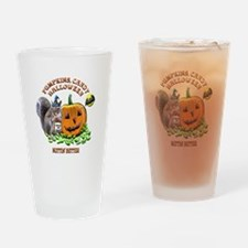 Halloween Squirrel Drinking Glass