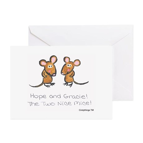 Hope & Gracie Greeting Cards (Pk of 10)
