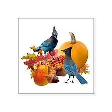 "Jays Harvest Square Sticker 3"" x 3"""