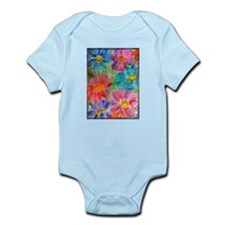 Flowers! Bright floral art! Infant Bodysuit