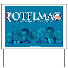 2012 Election Parody Yard Sign