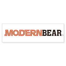 Modern Bear Bumper Sticker!