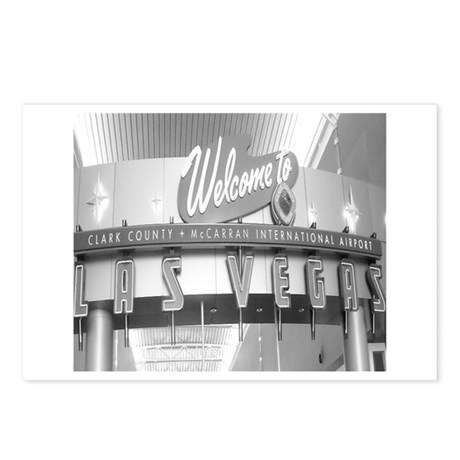 Welcome to Las Vegas Vintage Postcards (Package of