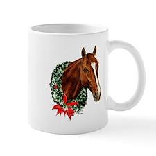 Horse and Wreath Mug