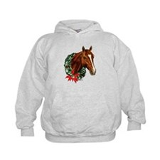 Horse and Wreath Hoodie