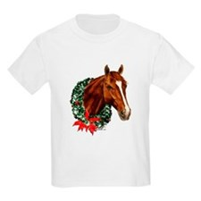 Horse and Wreath T-Shirt