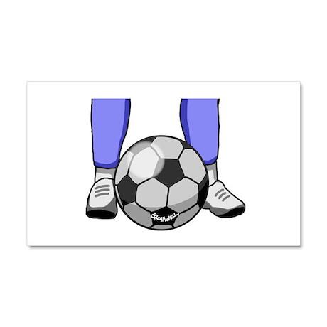 Soccer Car Magnet 20 x 12