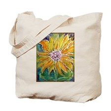 Sunflower! Bright, flower art! Tote Bag