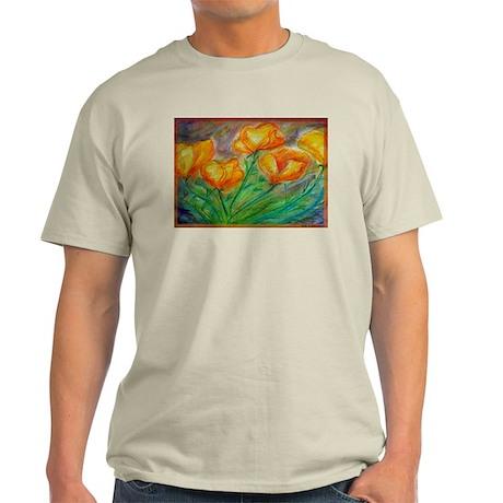 Golden Poppies! Colorful art! Light T-Shirt