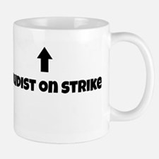 Nudist On Strike Mug