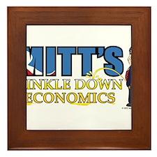 TINKLE DOWN ECONOMICS, MITT ROMNEY STYLE Framed Ti