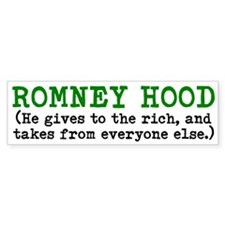 ROMNEY HOOD (He gives to the rich, and takes from