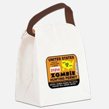 ZombiePermit Canvas Lunch Bag