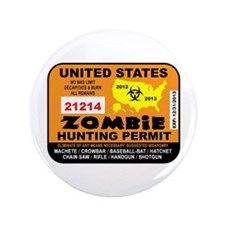 "ZombiePermit 3.5"" Button (100 pack)"