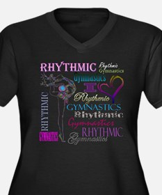 I Heart Rhythmic Gymnastics Women's Plus Size V-Ne