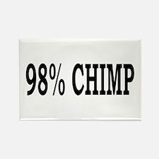 98% Chimp Rectangle Magnet