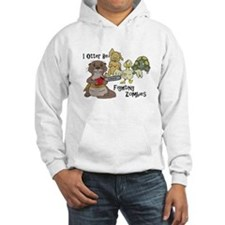 Cool Otter illustration Hoodie