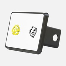 Adapt or Die (for dark background) Hitch Cover