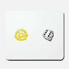 Adapt or Die (for dark background) Mousepad