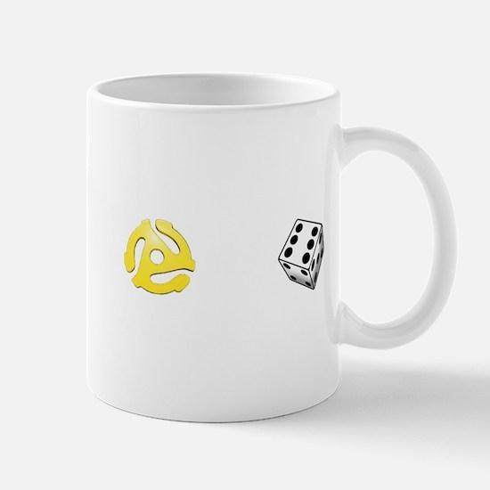 Adapt or Die (for dark background) Mug