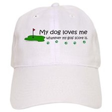 dog golf Baseball Cap