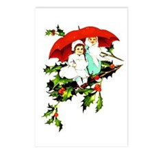 A Christmas Pair - Postcards (Package of 8)