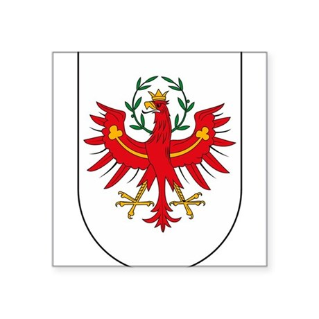 Tyrol Coat of Arms Oval Sticker
