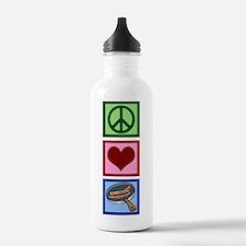 Peace Love Bacon Water Bottle