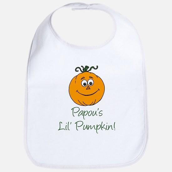 Papous Little Pumpkin Bib