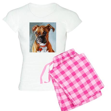 Boxer Dog Women's Light Pajamas