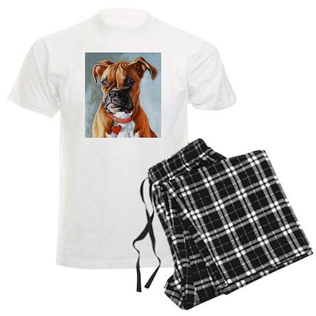 Boxer Dog Men's Light Pajamas