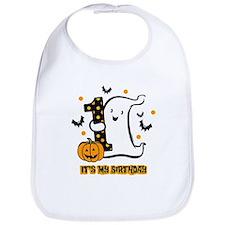 Little Ghost 1st Birthday Bib