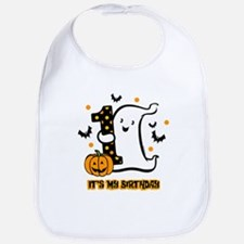 Little Ghost 1st Birthday Bib
