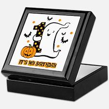 Little Ghost 1st Birthday Keepsake Box