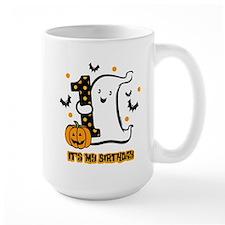 Little Ghost 1st Birthday Mug
