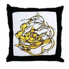 yellowballdoodle10.jpg Throw Pillow