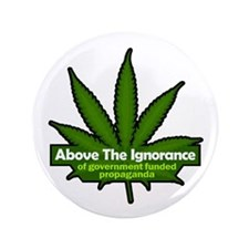 """Above the Ignorace 3.5"""" Button (100 pack)"""