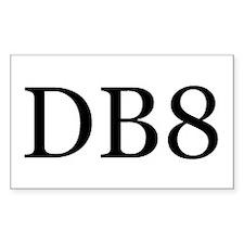 DB8 Decal