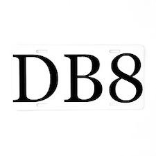 DB8 Aluminum License Plate