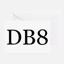 DB8 Greeting Card