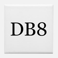 DB8 Tile Coaster